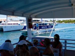 Ferry Boat pour l'île de Peanut Island (à West Palm Beach en Floride)
