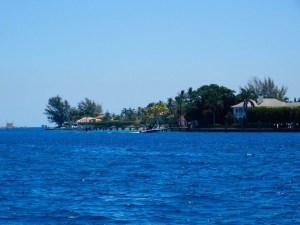 L'île de Peanut Island, près de West Palm Beach en Floride.