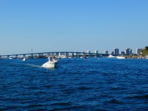 Le Blue Heron Bridge de Riviera Beach, en Floride