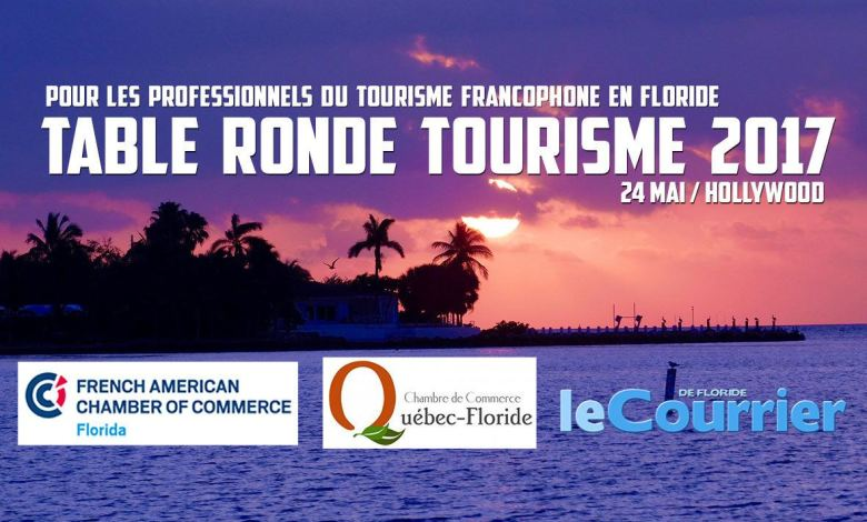 Table ronde tourisme 2017 - Floride