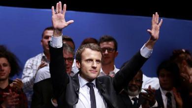 Victoire d'Emmanuel Macron