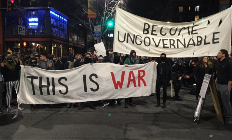 Les émeutes étudiantes en Californie