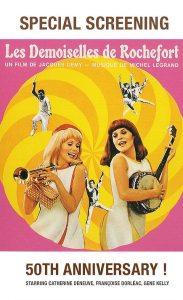 Affiche Les Demoiselles de Rochefort (film à Orlando Floride)
