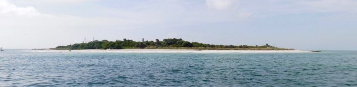 Egmont Key, belle île au large de St Petersburg en Floride