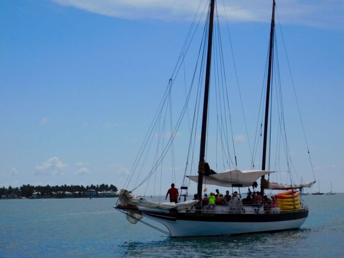Voilier à Key West