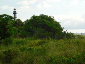 Phare et plage de Sanibel Island Lighthouse Beach Park (Floride)