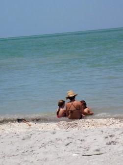 Turner Beach, sur l'île de Captiva (Floride)
