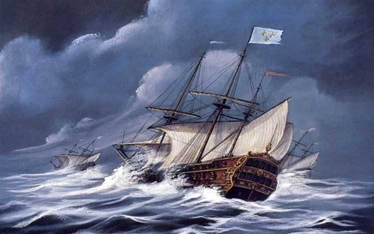 La Trinité : le navire de Jean Ribault