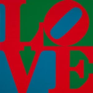 Love (1967) par Robert Indiana (© Robert Indiana)