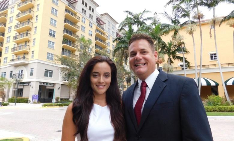 Alexandra et Sylvain Dupont, de Dupont International Realty, courtiers immobiliers en Floride.