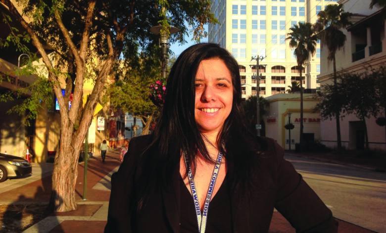 Paola Isaac Baraya, en charge de l'import-export au comté de Broward.