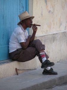 Fumeur de Havane - Cuba