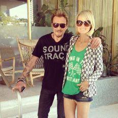 Johnny et Leticia à Miami et dans les Everglades au moment du concert de juin 2014.