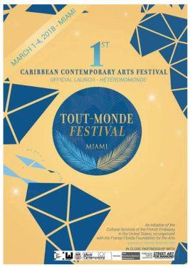 Affiche du Festival Tout-Monde à Miami
