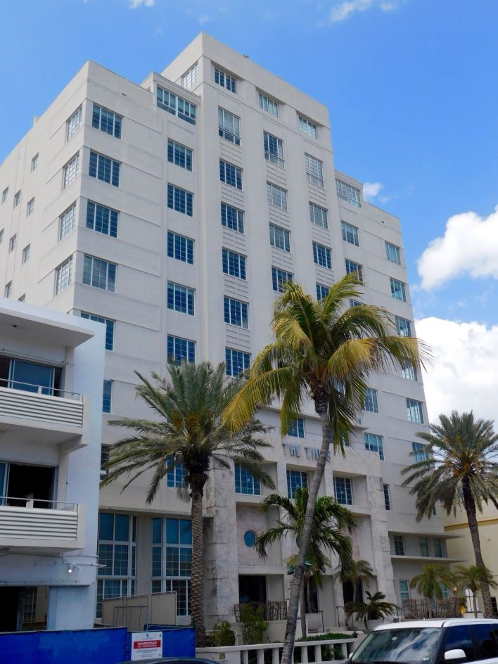 The Tides Hotel : hôtel art déco sur Ocean Drive à South Beach / Miami Beach