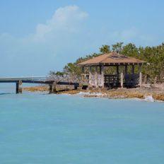Île d'Indian Key, près d'Islamorada dans l'archipel des Keys de Floride