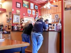 Coffee Shop dans le centre ville de La Belle, en Floride