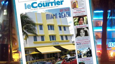 couverture du Courrier de Floride de mai 2018