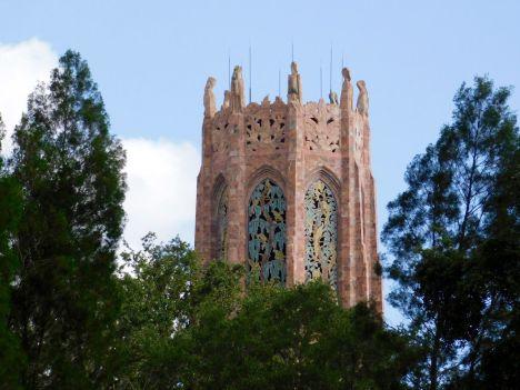 La Bok Tower et se jardins, à Lake Wales (au sud d'Orlando)