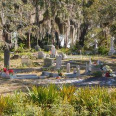 Cemetary Point Park, sur l'île de Cedar Key en Floride.