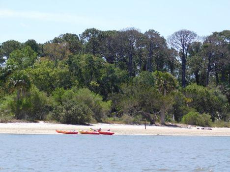 Atsena Otie Key, une île sauvage près de Cedar Key en Floride