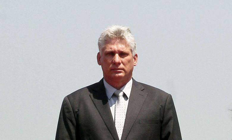Miguel Diaz Canel, nouveau président de Cuba