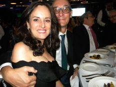 Richard Lancaric et Madame, au gala 2018 de la FACC Miami