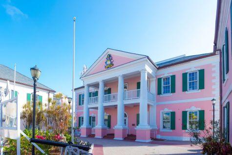 Bahamas New Providence Nassau - Parliament Square