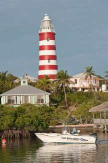 Bahamas Abaco - Hope Town Lighthouse