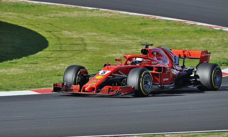 La Ferrari 2018 de Sebastien Vetel