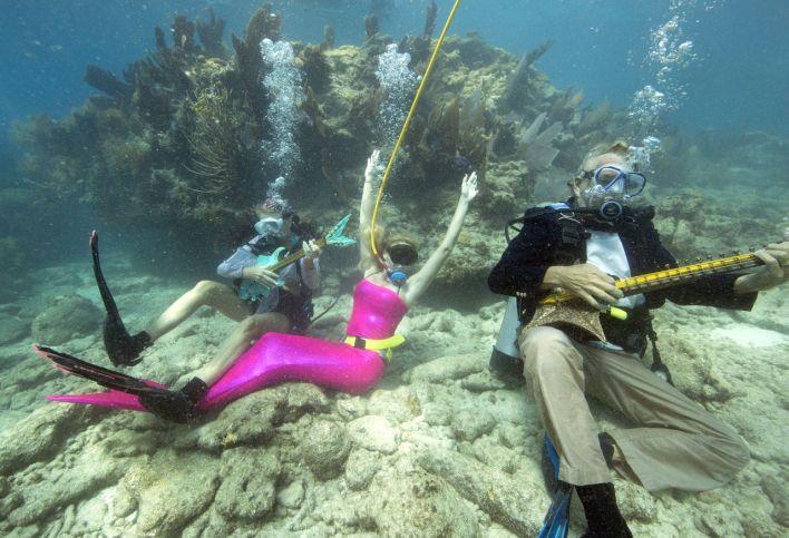 Underwater Music Festival dans les Florida Keys