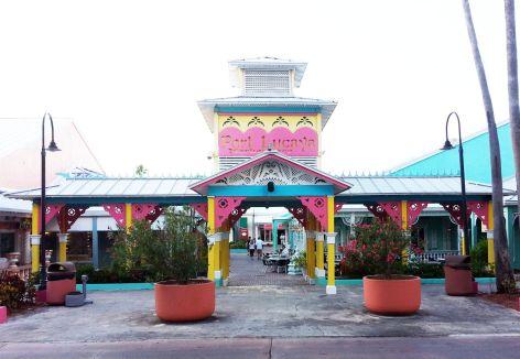 Bahamas Grand Bahama - Port Lucaya Market Place