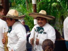 Mariachis sur l'île de Cozumel (Mexique)
