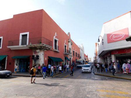 Centre de Mérida, capitale du Yucatan