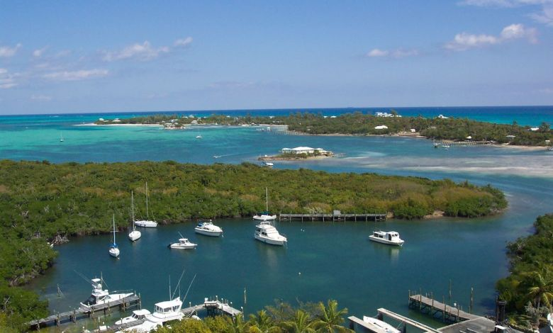 Bahamas Abacos Elbow Cay - vue du phare