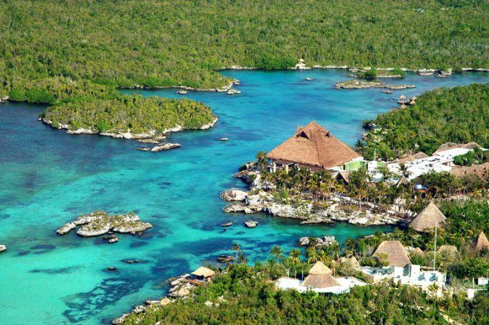 Parc d'attraction (et lagon) de Xel-Ha (près de Tulum au Mexique)