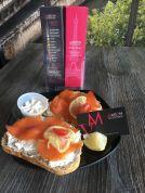 Maison Valentine Miami Beach tartines saumon