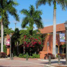 Le centre de Boca Raton en Floride
