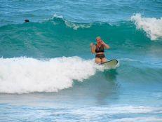 Surf sur la plage de South Beach Park à Boca Raton en Floride