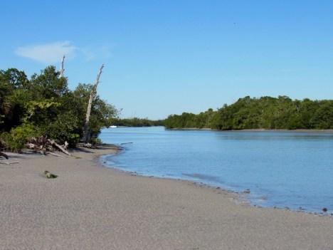 Le Stump Pass State Park, à Englewood en Floride