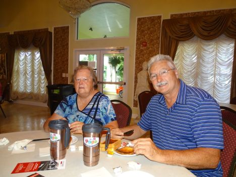 Patrick Beaulé au Aztec RV Resort de Margate en Floride