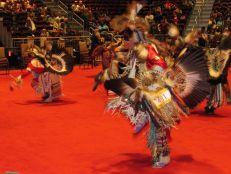 Pow wow des indiens seminoles au Hard Rock de Hollywood en Floride.