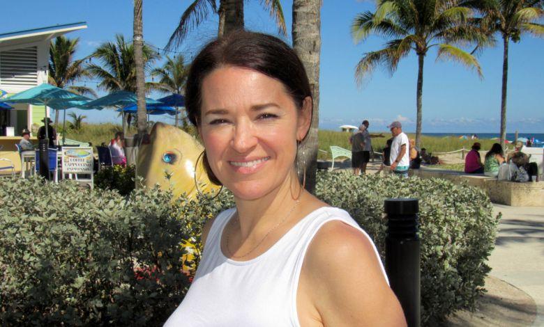 Marie-Eve Boivin en Floride