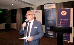Alain Ouelhadj (président de la FACC) à la soirée des associations françaises à Miami organisée par L'Union des Français de l'Etranger, FIPA, Alliance Française et Miami Accueil