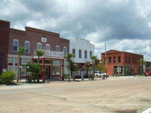 Centre ville d'Apalachicola, en Floride
