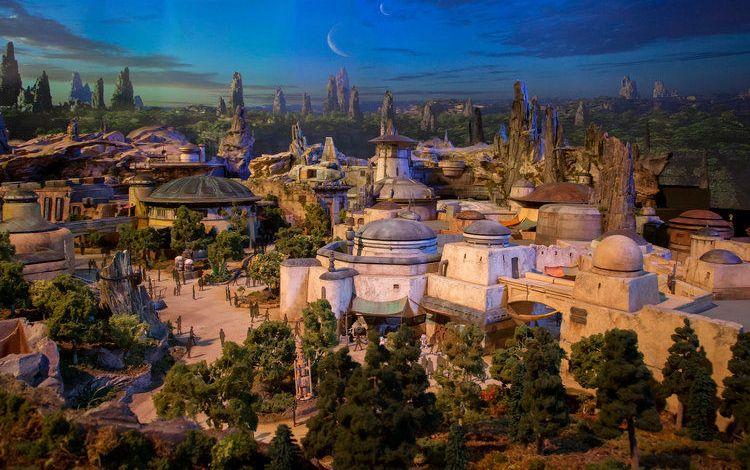 Star Wars Land à Disneyland Orlando