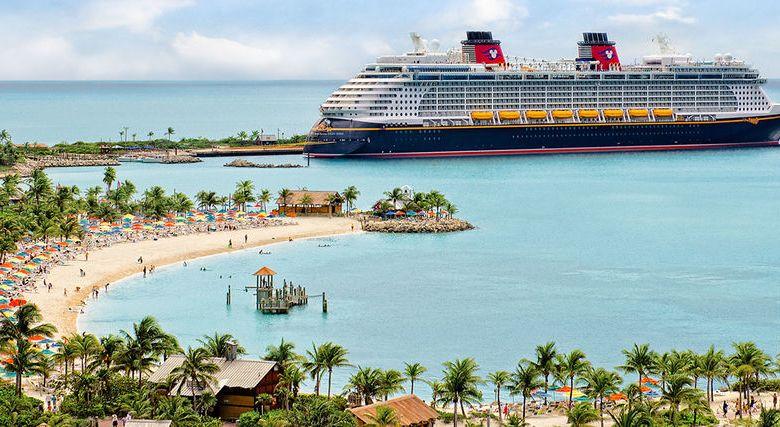 Les îles des Bahamas appartenant aux compagnies de croisière.
