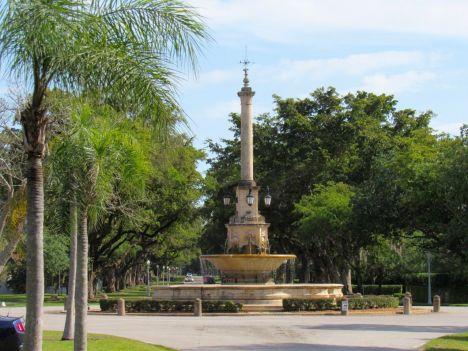 Fontaines à Coral Gables / Miami