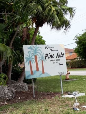 Le Pine Isle à Homestead en avril 2019