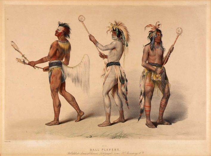 """La Crosse, this """"unique"""" sport defined to the French (referred to as """"Lacrosse"""" amongst English audio system)"""